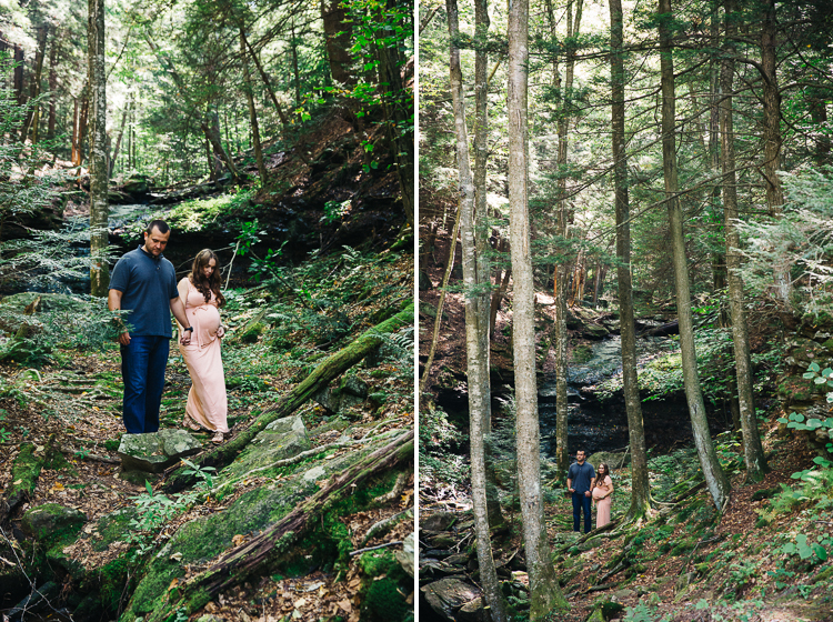 Montie [maternity] + family  A maternity session at Worlds